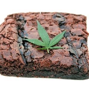 marijuana brownie